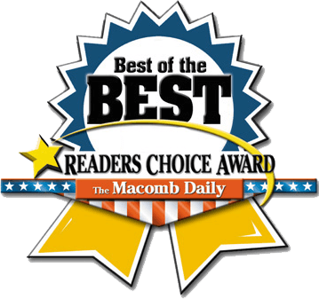 Best of the Best Readers Choice Award - The Macomb Daily